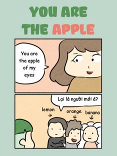Luyện tiếng Anh với You Are the Apple of My Eye