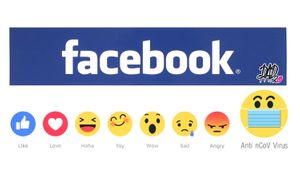 Facebook reaction... phòng dịch