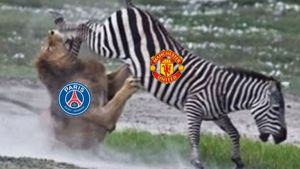 Ảnh chế Manchester United thắng PSG ở Champions League